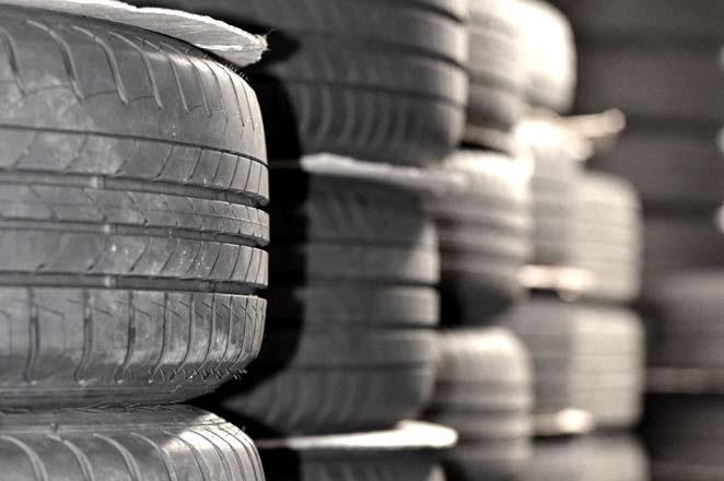 Reifen- und Rädereinlagerung